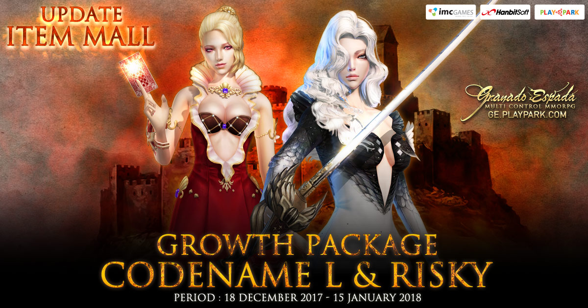 [GE] Update Item Mall : Growth Package Codename L & Risky