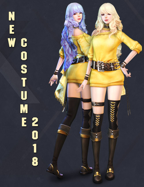 [GE] Update Item Mall : New Costume 2018
