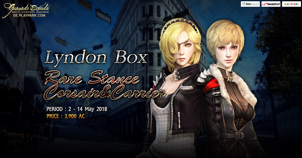 GE : Lyndon Box [Rare Stance Corsair&Carrier]