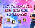 [GE]: Item Mall end year sale OFF 20%-50%