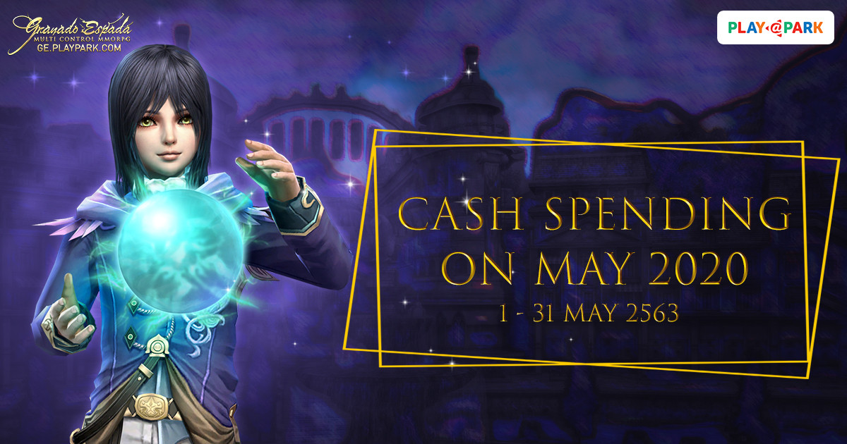 [GE]: Cash Spending on MAY 2020
