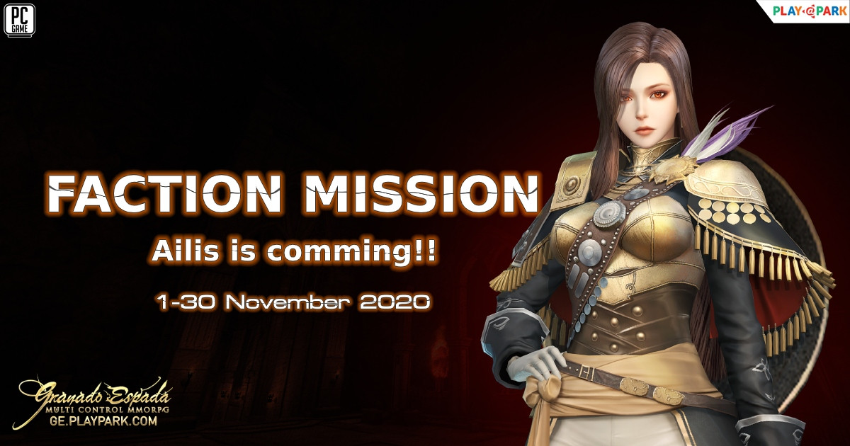 [GE] : Faction Mission Ailis is comming...